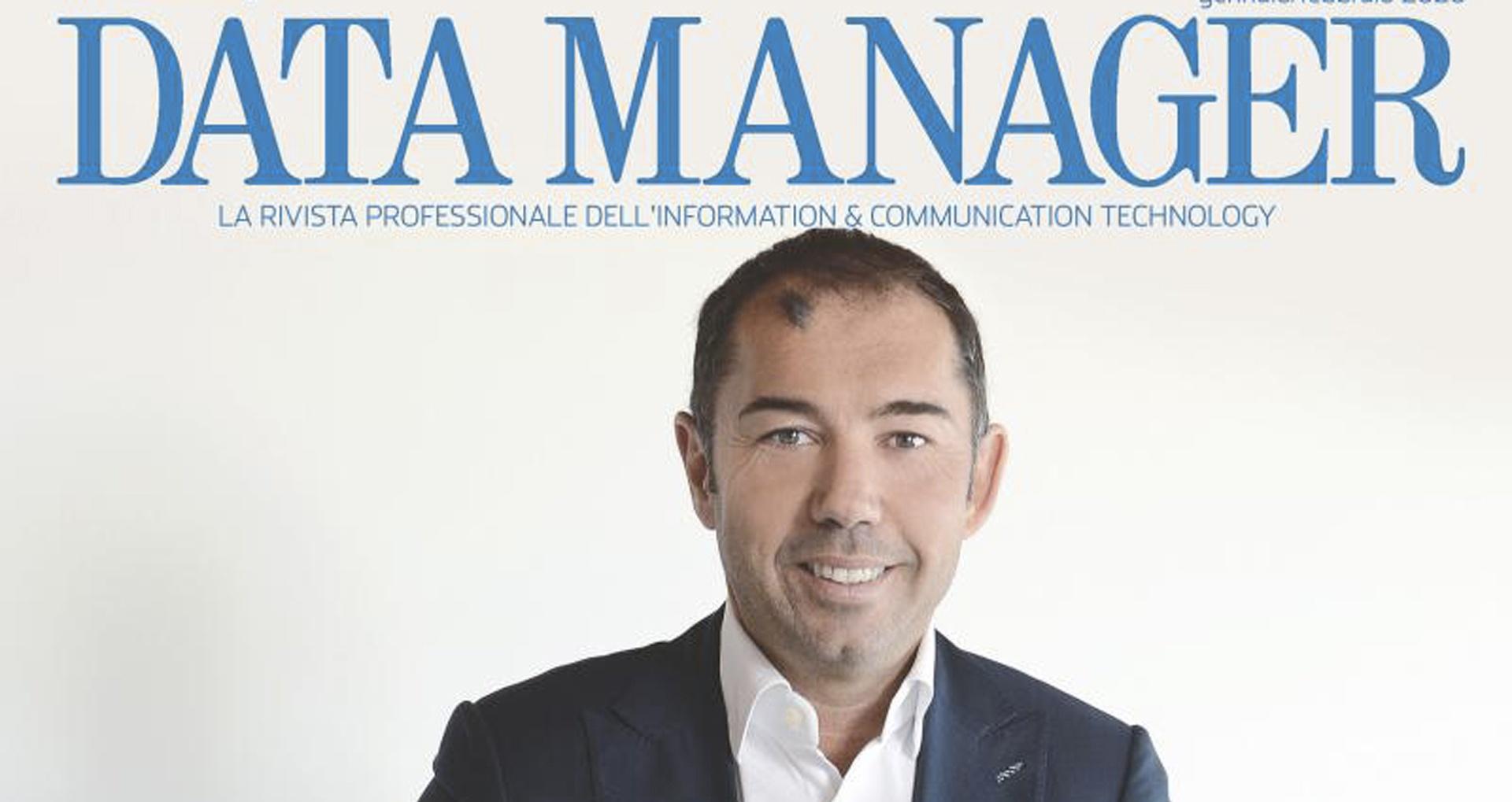 Data Manager cover story Gruppo Filippetti